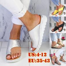 Summer, Flip Flops, Plus Size, wedge