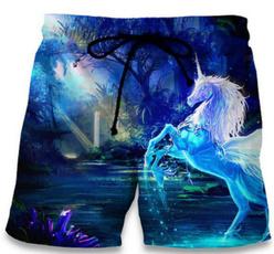 cute, horse, Shorts, Elastic