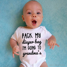 Funny, infanttoddler, jumpsuitromper, Bags