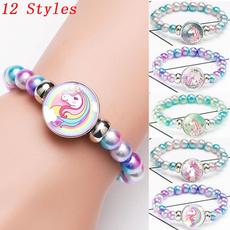rainbow, Jewelry, Glass, Bracelet