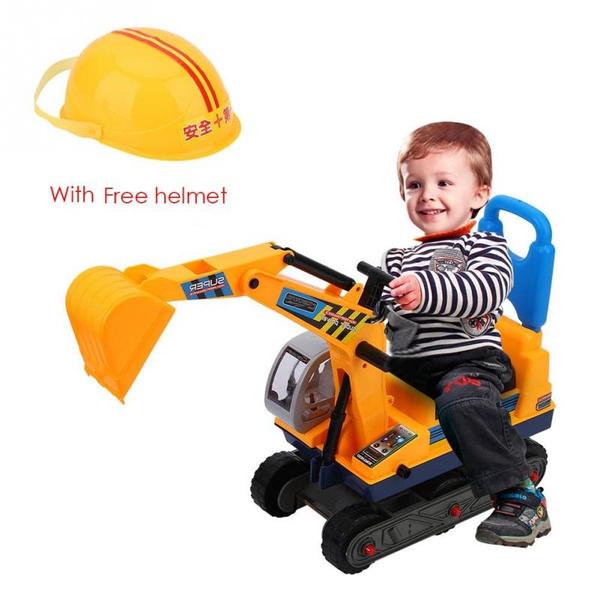 Helmet, Toy, kidstrucktoy, kidsexcavator