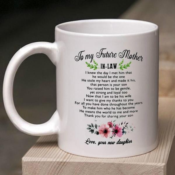 futuremotherinlawmug, Coffee, motherinlawgift, Gifts