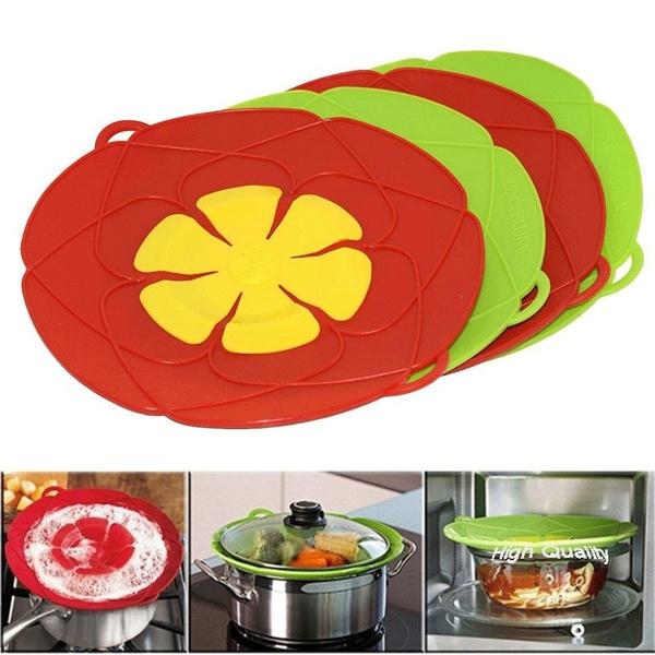 lid, Kitchen & Dining, spillstopper, siliconekitchenware