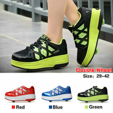 Sneakers, rollershoe, rollerskate, doublewheel