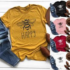 Summer, Shorts, Shirt, letter print