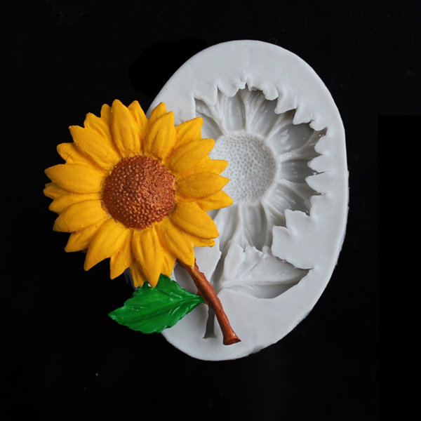 Baking, sunflowermould, Sunflowers, Hobbies