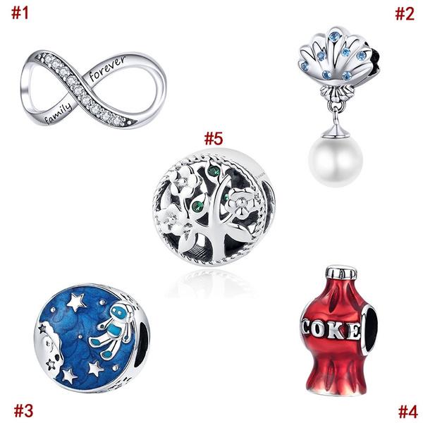 925stelringsilvercharm, Family, Pearl Bracelet, Pandora Beads