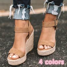 wedge, Sandals, Women Sandals, Summer
