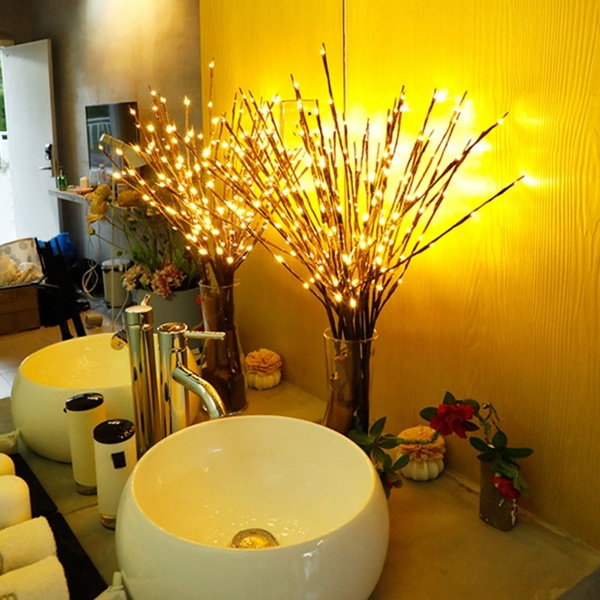 led, Garden, fairylight, Bouquet