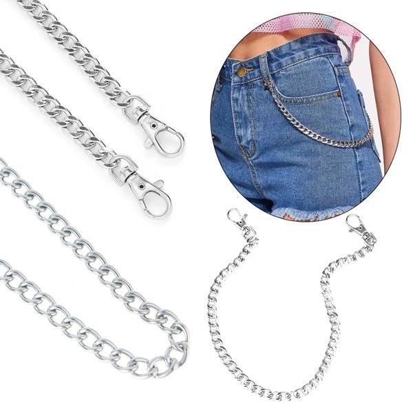 waistkeychain, Goth, hip hop jewelry, Chain