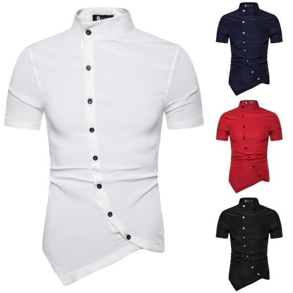 Fashion, Slim Fit, Cotton T Shirt, Sleeve