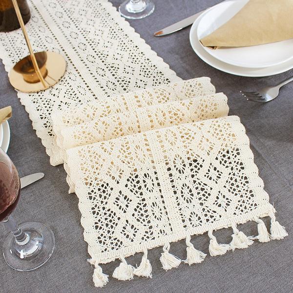 Tassels, Lace, Wedding Accessories, tabledecor
