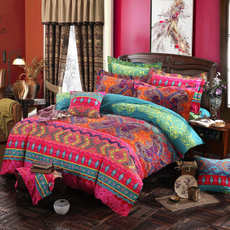 Cotton, quiltcover, Egyptian, Bedding