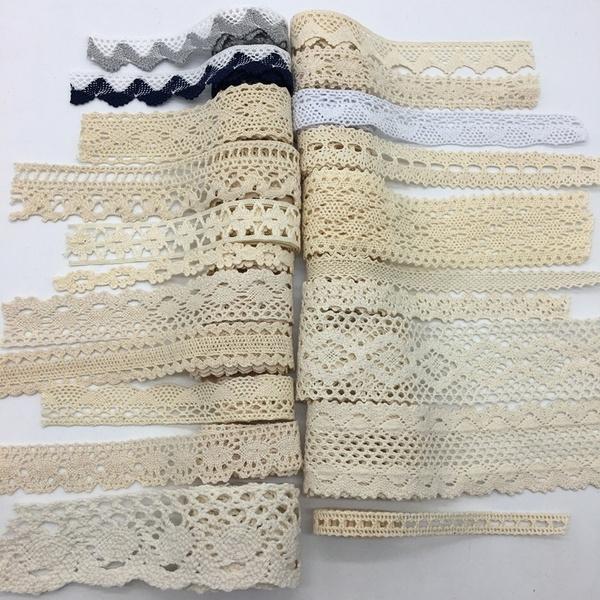 vintagelace, lace trim, Ivory, Sewing
