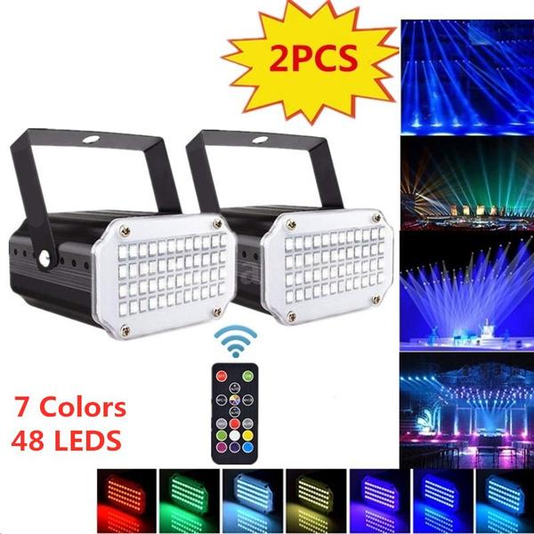 Flashlight, ledstagelight, 7colorsstrobelight, lights