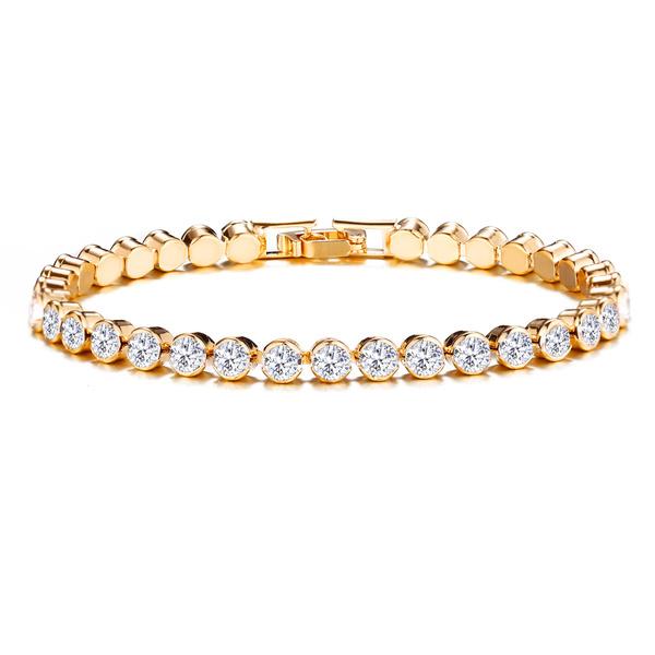 Crystal Bracelet, luxurybracelet, Gifts, tennisbracelet
