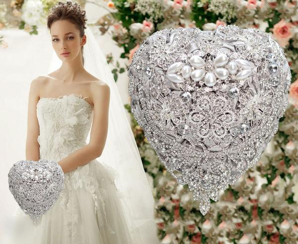 Crystal, handmadecrystalbouquet, Jewelry, Wedding Accessories