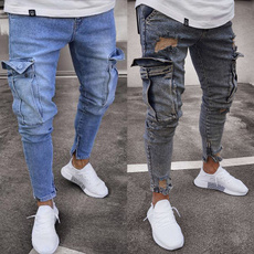 Fashion, rippedjean, fashionjean, Denim
