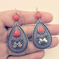 ethnicearring, pendantearring, vintagedropearring, Dangle Earring