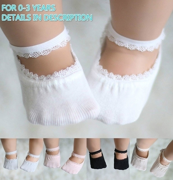 Summer, Cotton Socks, newbornbabysock, Lace