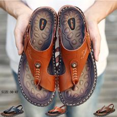 non-slip, beach shoes, Sandals, leather shoes