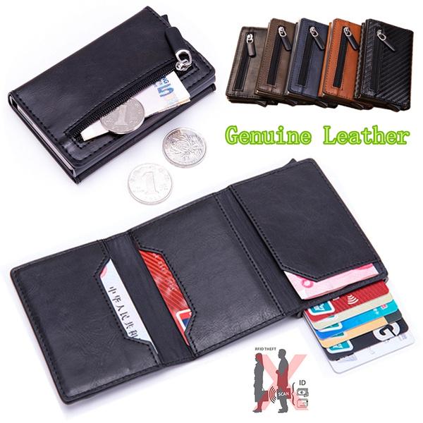 leather wallet, zipperpurse, slim wallet, Wallet
