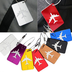 Steel, suitcasetag, name, luggagelabel