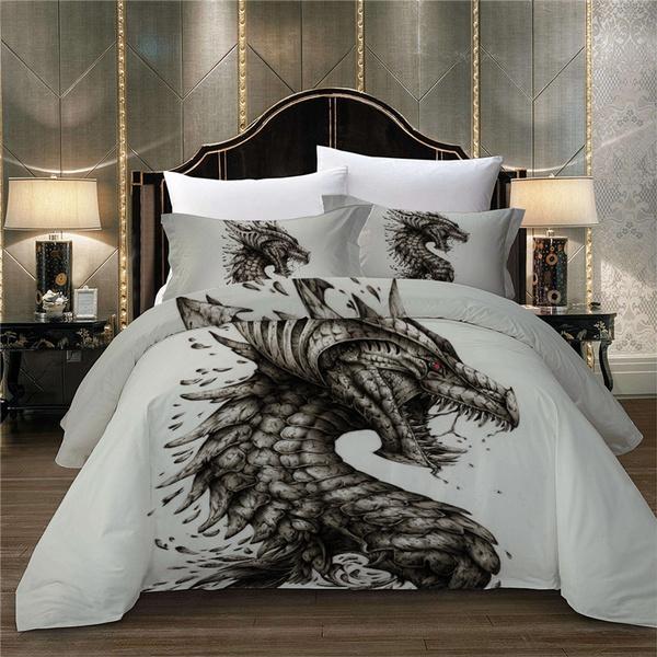 Twin Bedding Queen Dinosaur Set, Dragon Bedding Sets Queen
