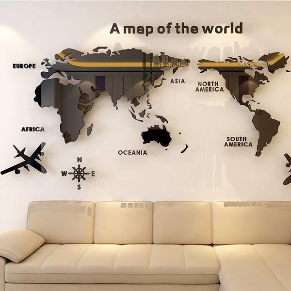 Office, decalmuralart, Wall Decal, Acrylic