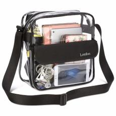 Shoulder Bags, Football, Waterproof, Clear