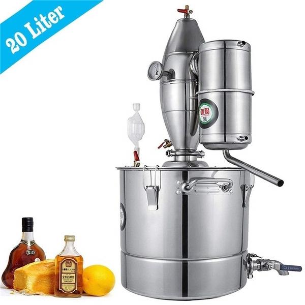 Steel, distilledwineequipment, hydrosolmachine, distilling