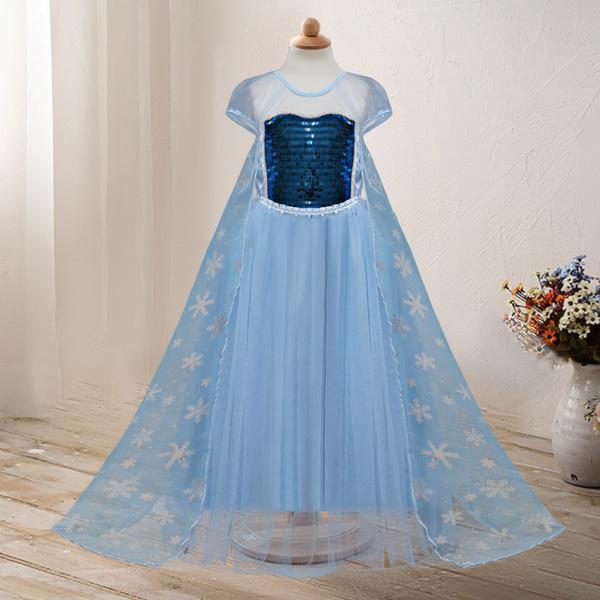 elsa dress, Cosplay, Princess, Summer