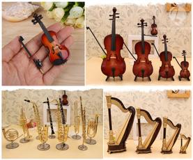 musicalinstrumentmodel, flutebrooch, minisaxophonealto, Dollhouse