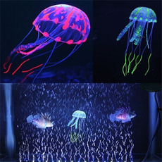 Tank, siliconejellyfish, Silicone, aquariumdecoration
