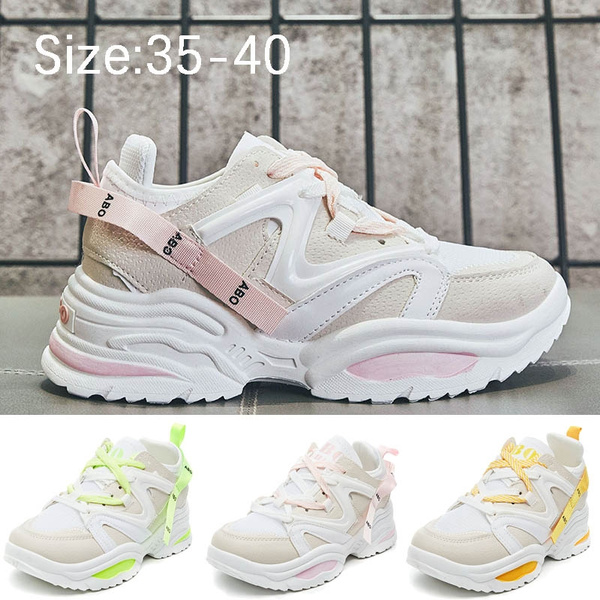 Shoes Colorful Trend Wild Running Shoes