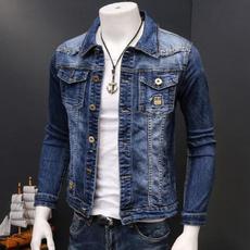 Blues, Plus Size, Coat, Casual