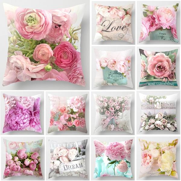 case, Decor, Flowers, sofapillow