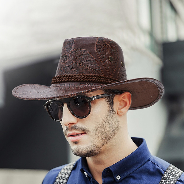 casquettehomme, Jazz, Cowboy, Cowgirl