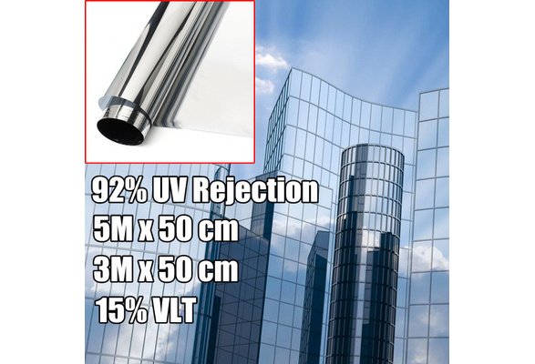 """5/% DELUXE NATURAL COLOR PROLINE WINDOW TINT 15/""""X10/' MODERATLY REFLECTIVE FILM"""