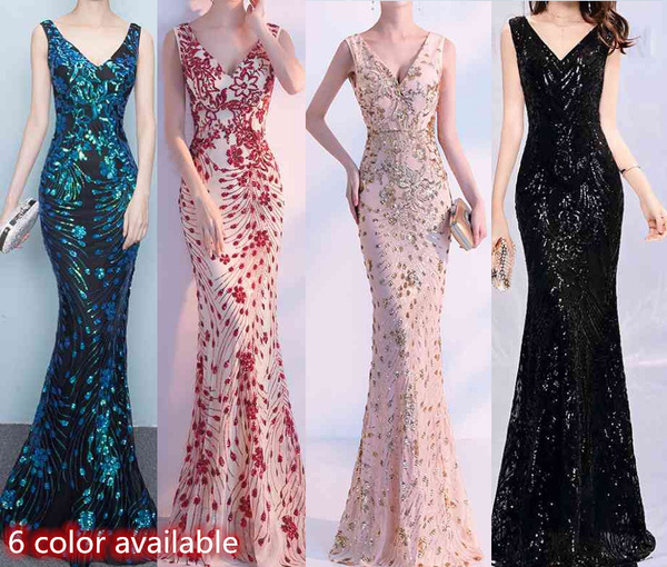 bridaldres, Necks, Elegant, Evening Dress