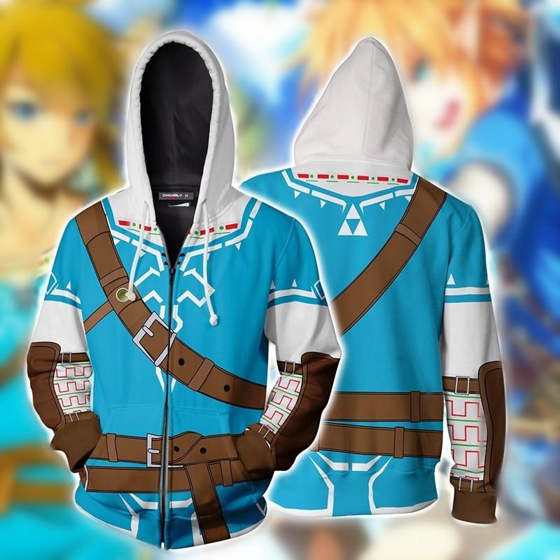 The Legend of Zelda: Breath of The Wild Hoodies Jacket