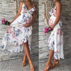 Summer, Fashion, short dress, Mother