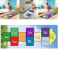 hopscotchgamerug, Rugs, educationalrug, playmat