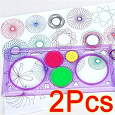 Educational, Toy, spirographgeometricruler, Gifts