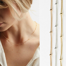 delicatenecklace, Chain Necklace, Fashion, Jewelry