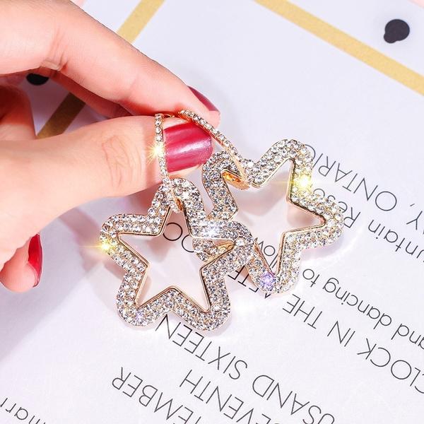 yellow gold, 18k gold, Star, Jewelry
