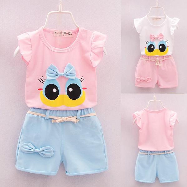 Summer, Infant, Vest, Outfits