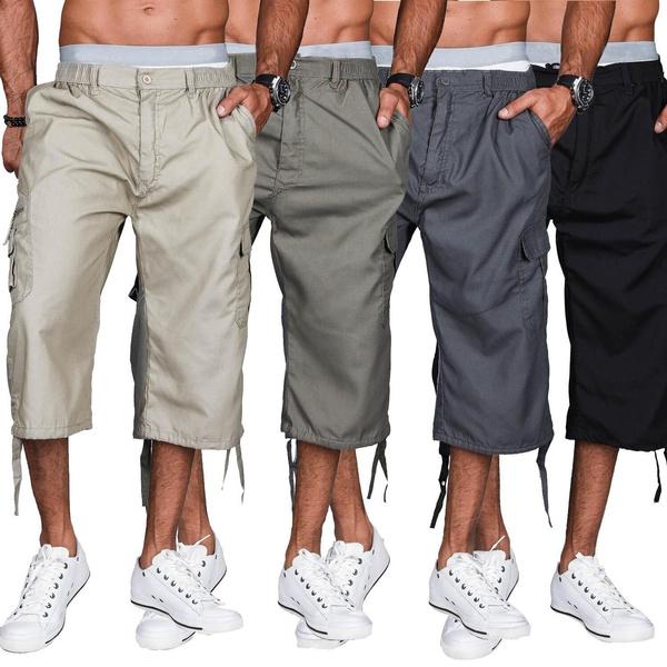 elasticwaistpant, capripant, Shorts, Summer