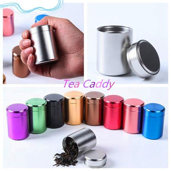 teajar, Container, Aluminum, Tea