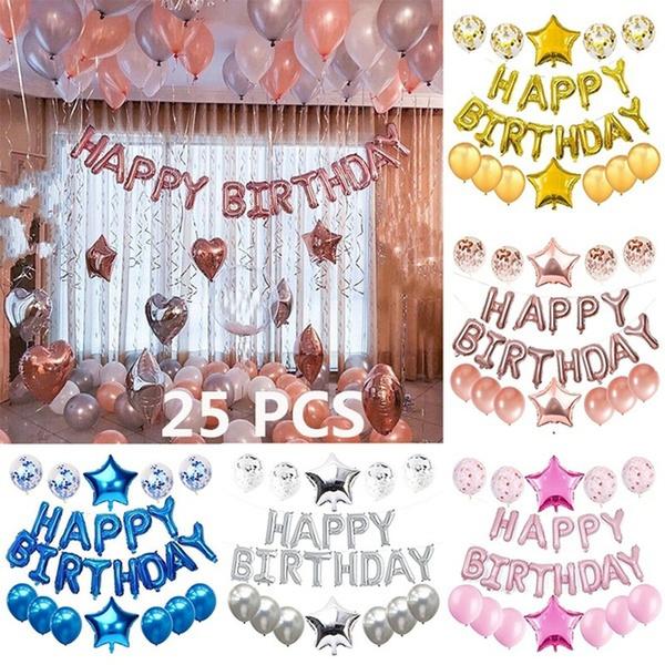 latex, Aluminum, ballon, birthdayballoon
